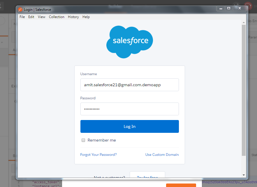 Amit Salesforce | Salesforce Tutorial: Test Salesforce API by