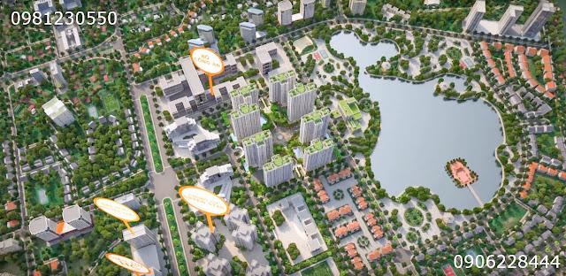 Phối cảnh tổng thể dự án An Bình City