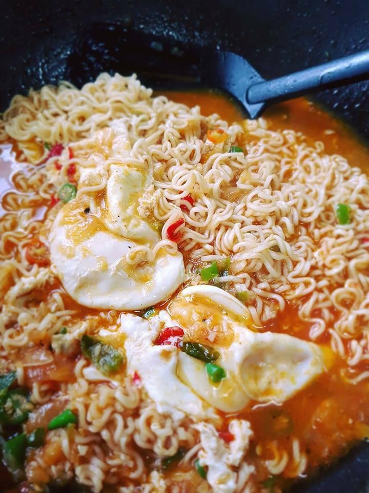 masak maggi kari sotong hans cooking recipes Resepi Masak Maggi Ketam Enak dan Mudah