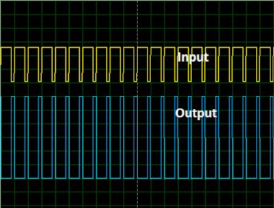 ULN2003A Simulation Oscilloscope Output