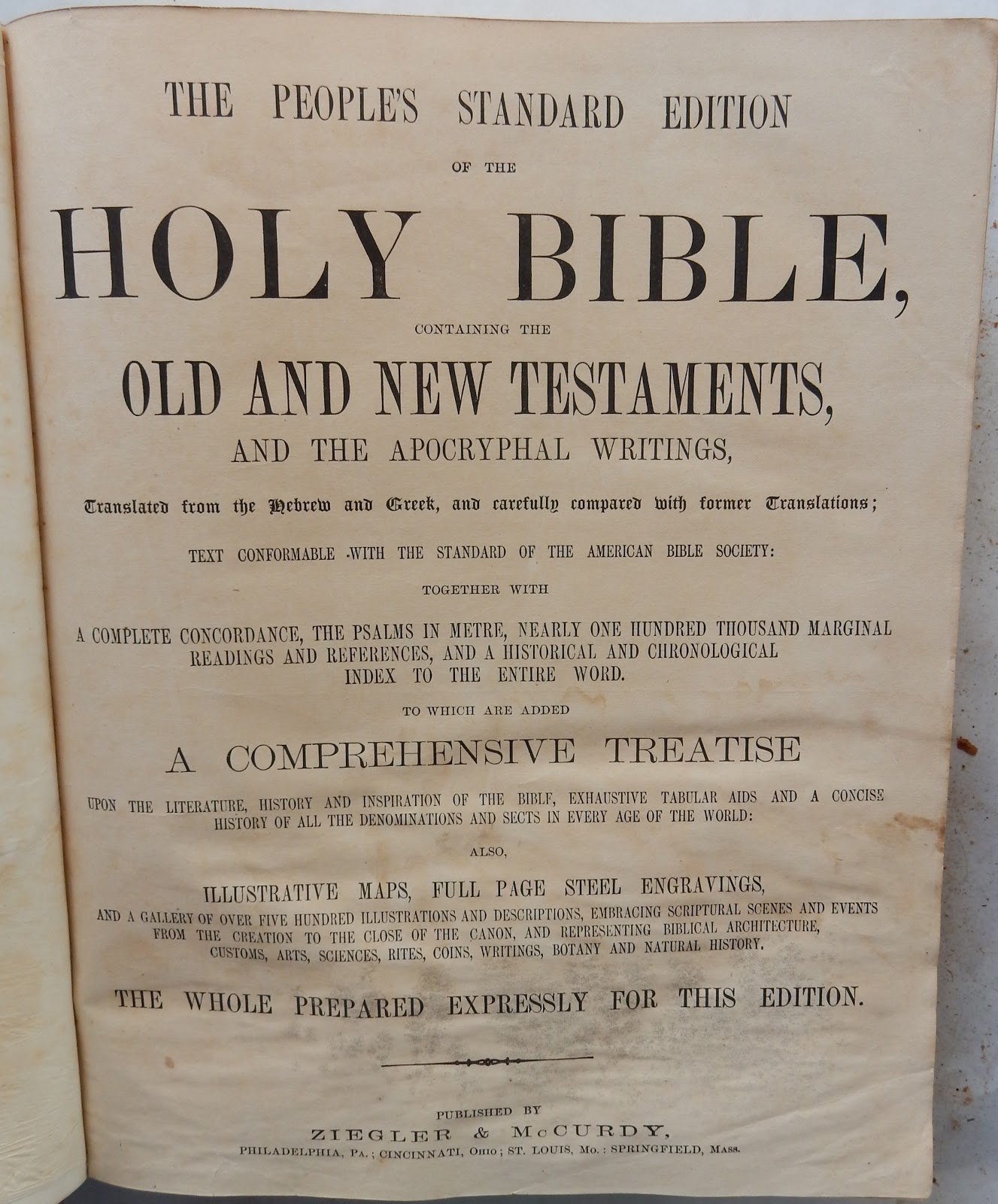 heirlooms reunited bible of dr albert franklin piper u0026 martha