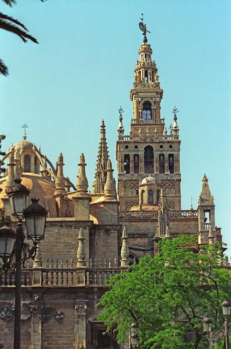 Séville, Giralda, cathédrale, © L. Gigout, 1991