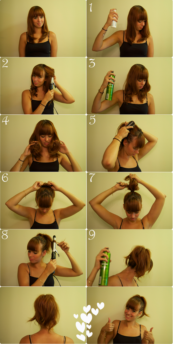 Help Designing 9x9 Small Bedroom: DailyBuzz Style 9x9 Summer Hairstyle: The Messy Ponytail