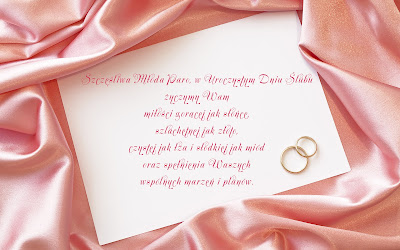 kartka na wesele
