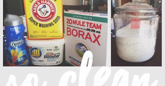 Make your own HE Laundry Detergent!