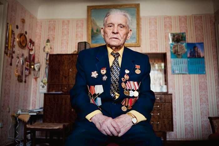Ветераны Второй мировой войны. Константин Суслов (фотограф)
