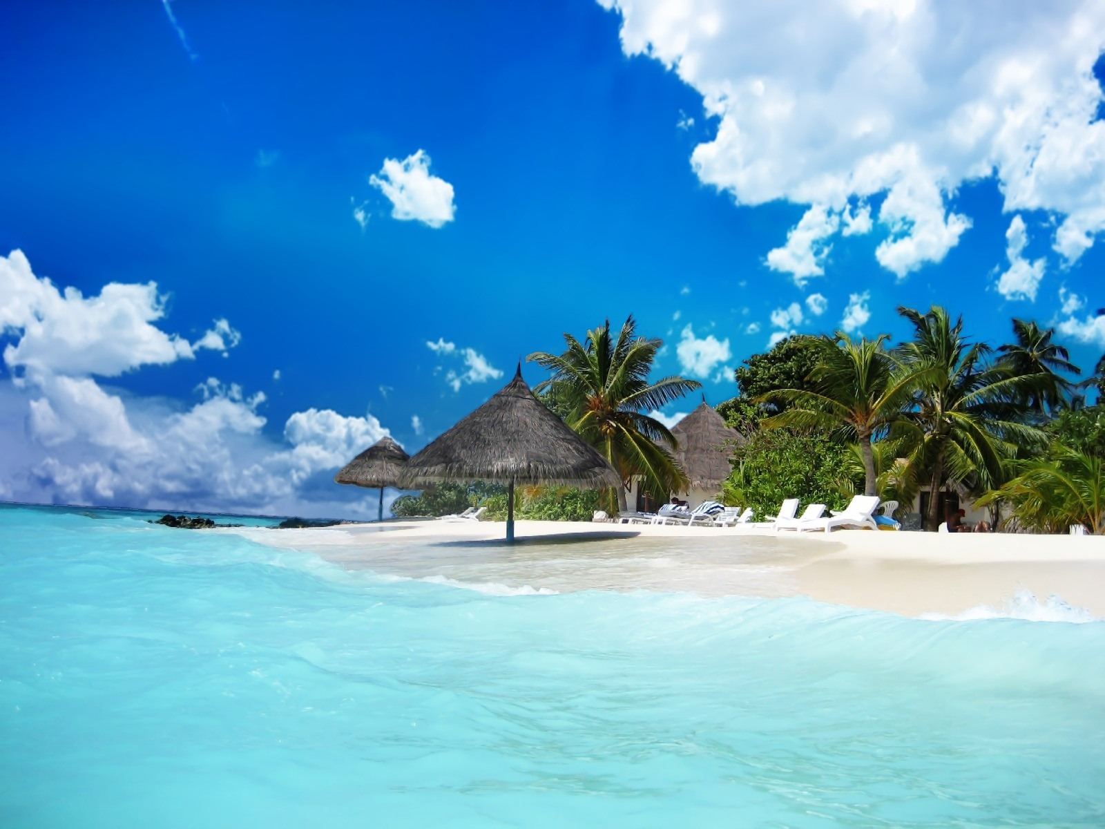 Online Wallpapers Shop: Beach Wallpaper