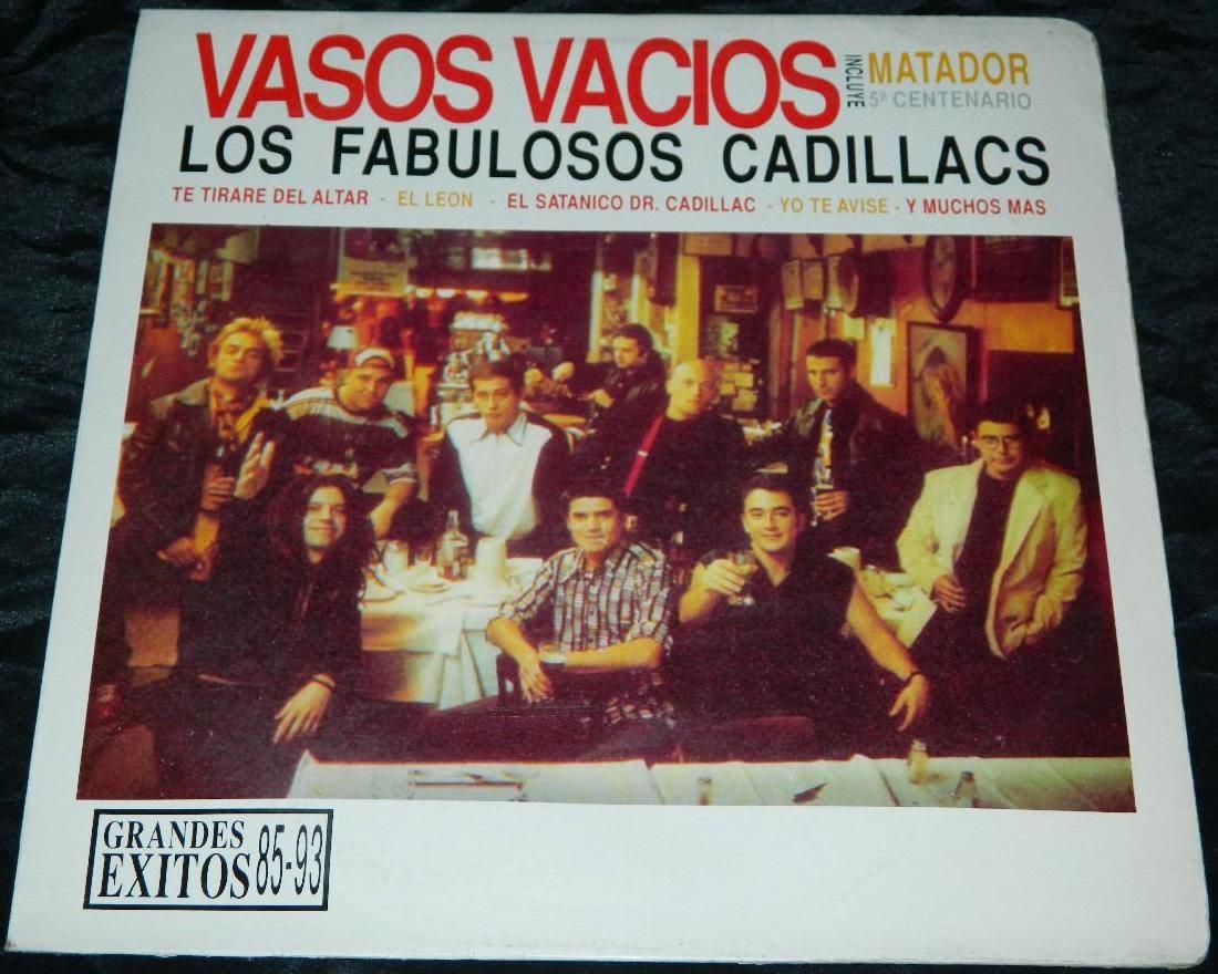 los fabulosos cadillacs vasos vacios 1993