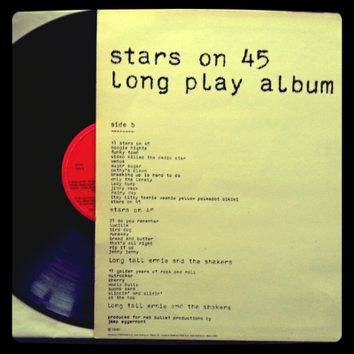 Stars on 45 -  Long Play Álbum (1981 - CNR) Disco y Contraportada