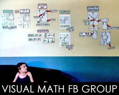 Visual Math Facebook group