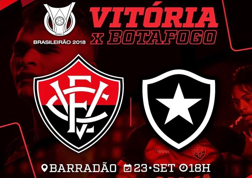 Assistir Vitória x Botafogo ao vivo HD pelo Campeonato Brasileiro 1