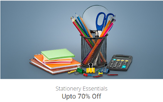 paytm 70% off on Stationery Essentials