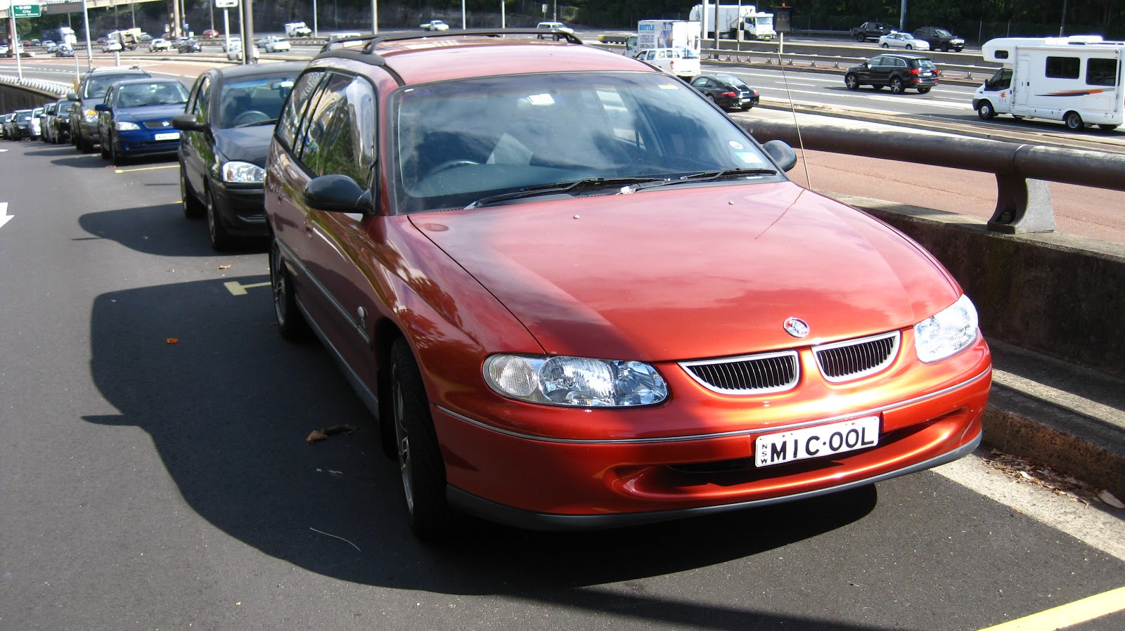 Aussie Old Parked Cars 1999 Holden Vt Commodore Olympic
