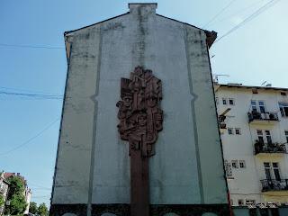 Калуш. Житловий будинок зі сторони майдана Шептицького