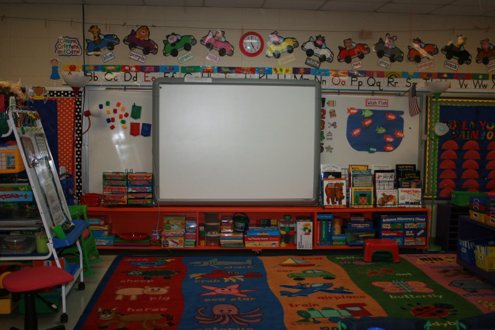 Kinder Garden: Mrs. Mayas' Kindergarten: Classroom Tour