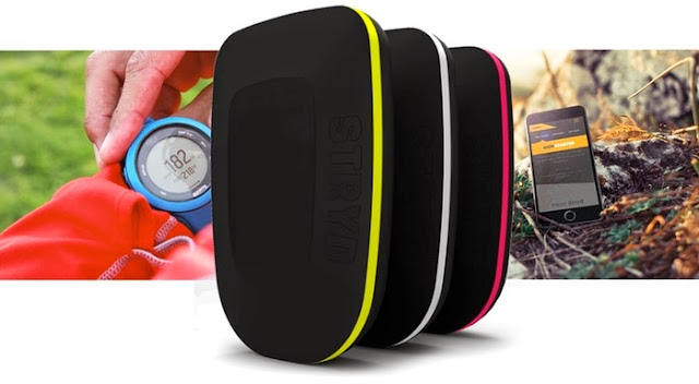Stryd wearable power meter for running