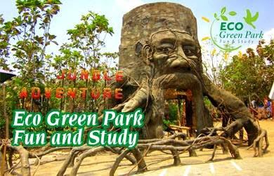 wisata eco green park batu