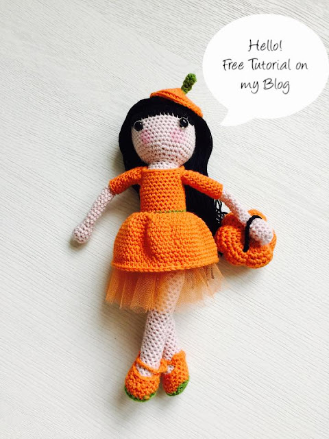 Amigurumi Natasha Doll-Free Pattern