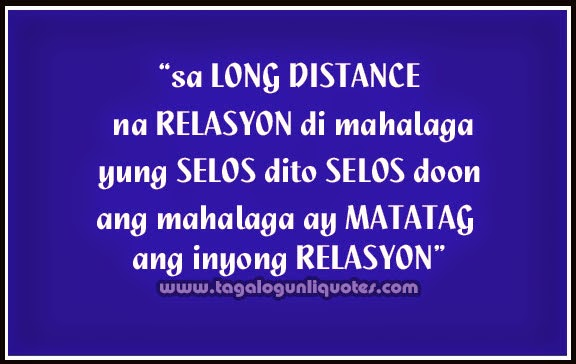 long distance relationship quotes for facebook tagalog status