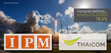 IPM menempati satelit Thaicom 8