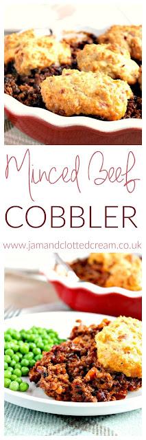 Minced Beef Cobbler