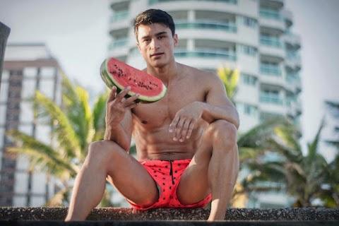 Model Camilo Bran  at the CARIOCA COAST By Giulliano Lennon #1