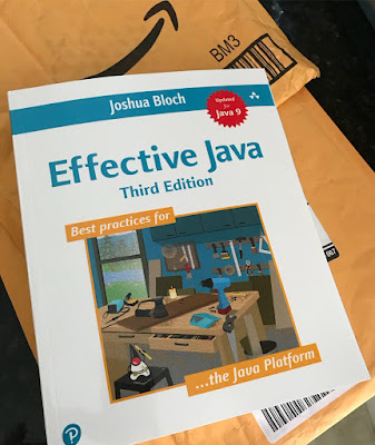 Effective Java 3rd Edition by Joshua Bloch - must read for developers