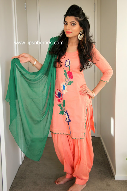 Salwar suit for Indian weddings