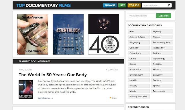 موقع Top Documentary film