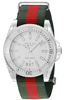 Gucci Dive Silver YA136207