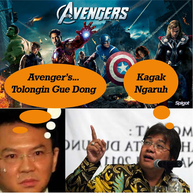 """LSI : """"Avengers"""" Takkan Mampu Menangkan Ahok Jadi Gubernur."""