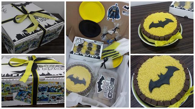 Festa na Caixa - Tema Batman