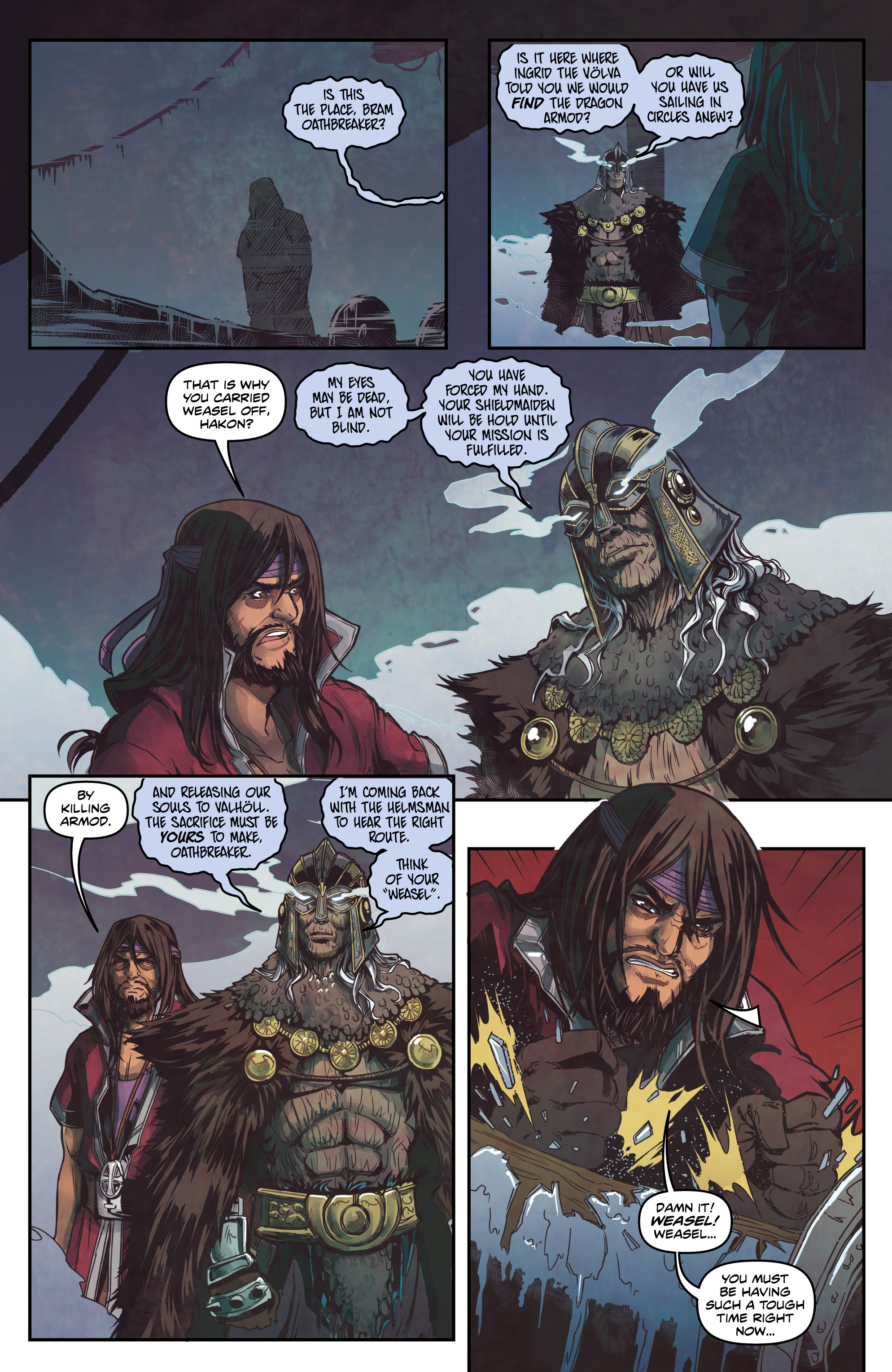 Read online Rogues! (2014) comic -  Issue #4 - 3
