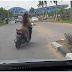 BREAKING NEWS: Berbugil Ria Naik Yamaha Masuk ke Area Bandara