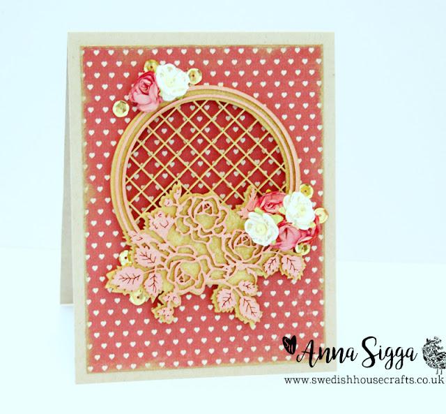Roses of Love card | By Anna Sigga