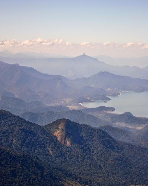Trechos da Estrada Real: Baía de Paraty, vista de Cunha