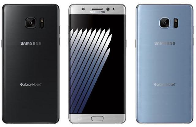 صور رسمية جديدة مسربة للهاتف Galaxy Note 7 وبدء تلقي الطلبات المسبقة