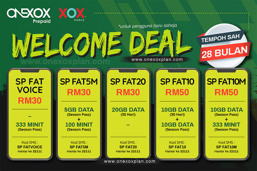 Season Pass Welcome Deal 28 Bulan