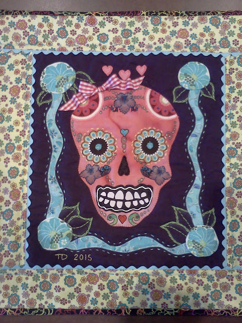 Day of the Dead Art Quilts