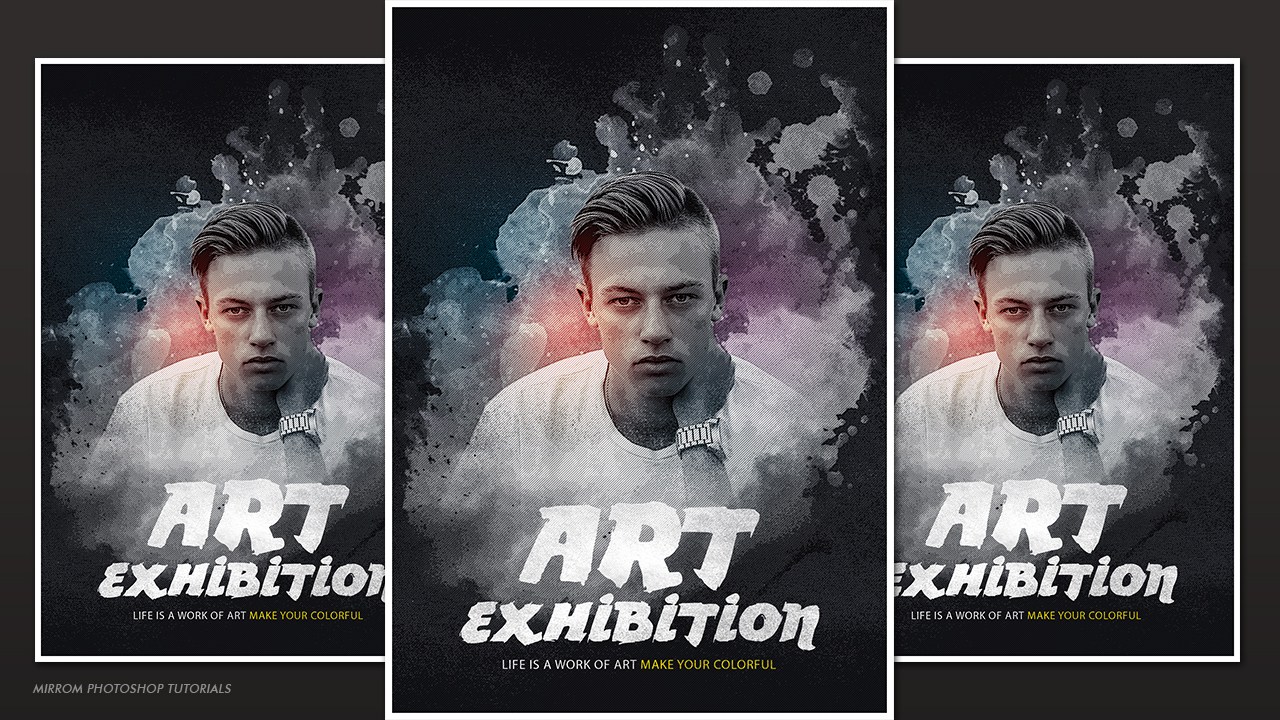 Make Creative and Artistic Poster  Design In Photoshop