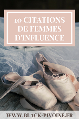 10 citations de femmes d'influence