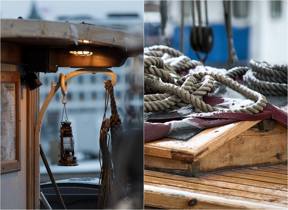 Helsinki, Uusivuosi, streetphotography, valokuvaus, valokuvaaja Frida Steiner, arkkitehtuuri, ardhitecture, Suomi, Finland, visitfinland, visithelsinki, vene, purjevene