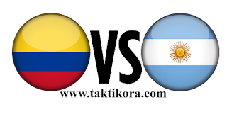 الارجنتين وكولومبيا بث مباشر اليوم