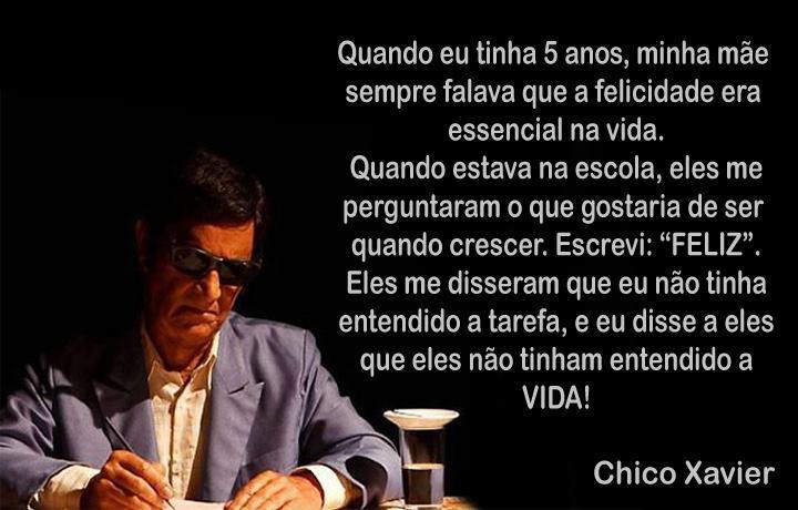 Reflexão: Chico Xavier