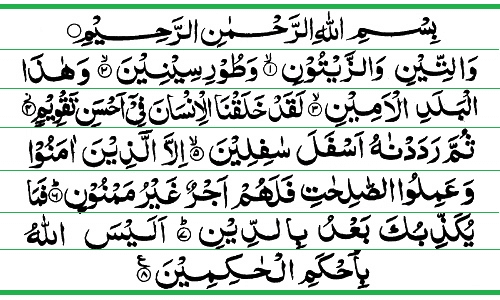 al qur'an surat at tin