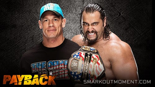 John Cena I Quit Match Rusev Payback 2015 Event