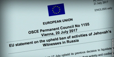 International Response to Russia's Supreme Court Decision Against Jehovah's Witnesses