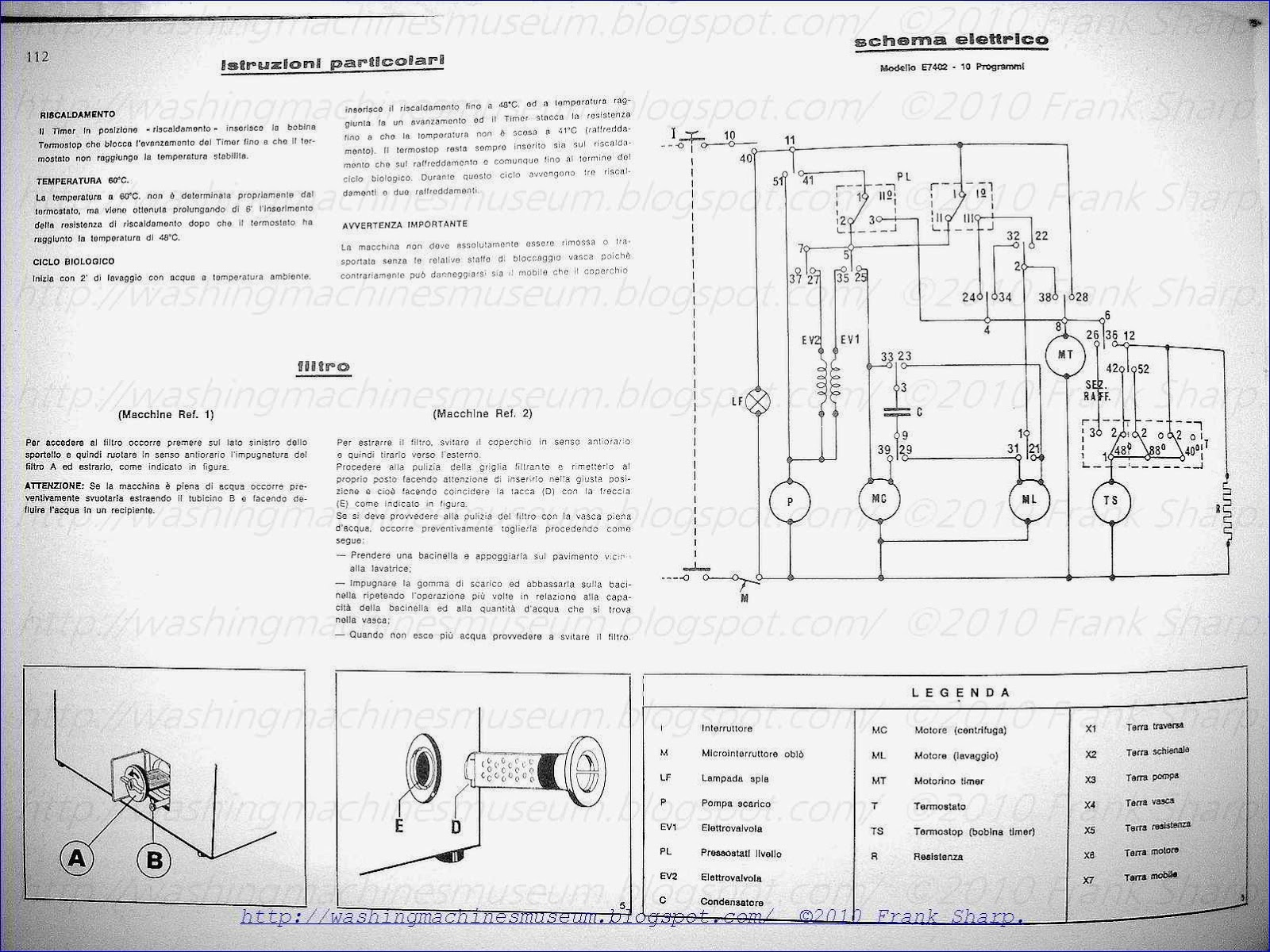 Washer Rama Museum Emerson Electronics Mod California E7602 Schematic Diagram Florida E7402
