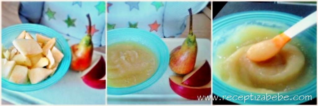 jabuka i kruska za bebe