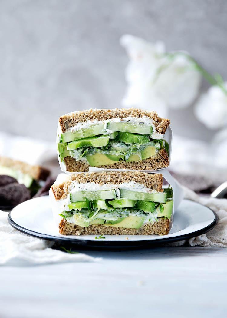 sándwich del jardinero